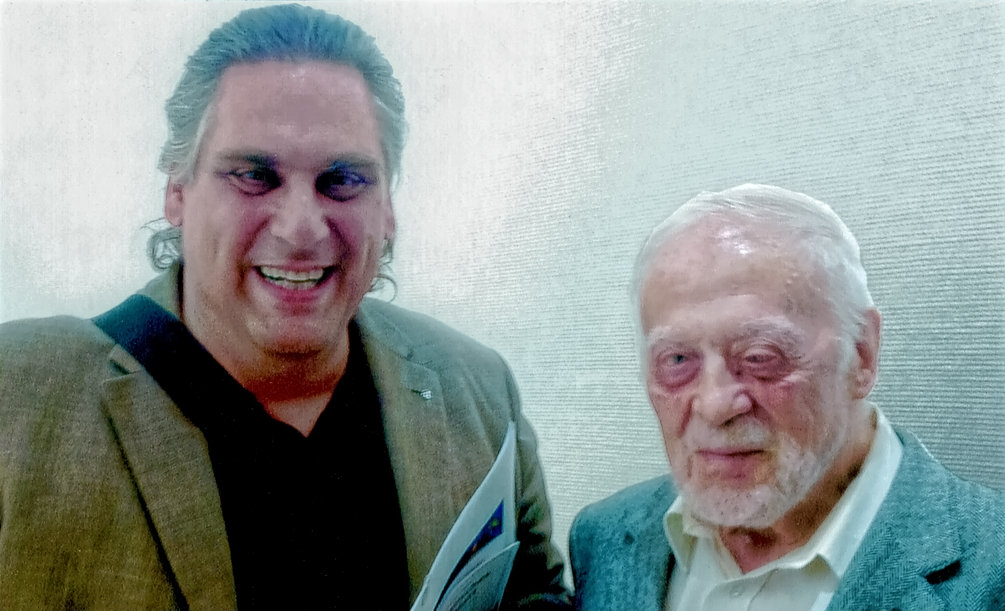 Cornelius Rinne und Rolf Appel 2015